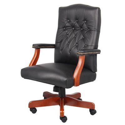 kursi kantor, kursi direktur, kursi putar bos, kursi kayu direktur